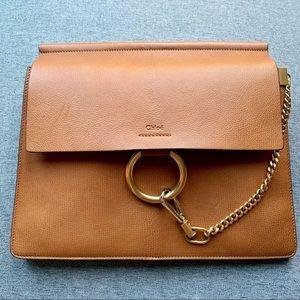 Chloe Medium Faye Tan Bag
